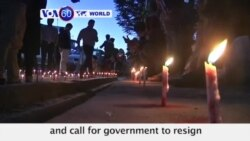 VOA60 World PM - Activist call for government to resign after massive blast hits Kabul