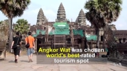 Angkor Wat Takes Top Spot for Tourist Destination
