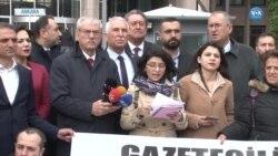 Tutuklanan Gazeteciler İçin Beş İlde Eylem