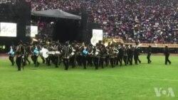 Bhendi reZimbabwe National Army Richifadza Vanhu kuNSS