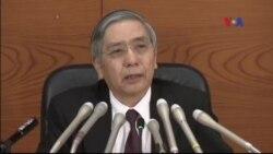 Nhật Bản cắt giảm lãi suất xuống mức âm