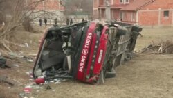 Македонија завиена во црно - ден по кобната автобуска несреќа