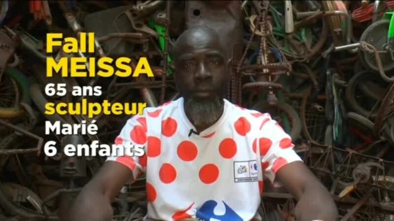 Nous, Sénégalais, l'artiste et sculpteur Meissa Fall veut aller loin