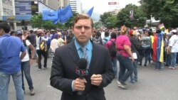 "Opositores venezolanos instan a la ""desobediencia civil"""