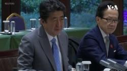 日本首相安倍:東海局勢不穩日中關係無法改善