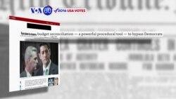 """Manchetes Americanas 7 Outubro: Paul Ryan vai usar a táctica """"reconciliação do orçamento"""""""
