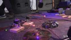 Robot Orchestra Creates Otherworldly, Psychedelic Music at SXSW