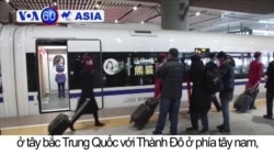 Trung Quốc ra mắt tàu tốc độ cao