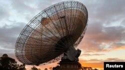 រូបឯកសារ៖ មណ្ឌលសង្កេតមើលផ្កាយThe Parkes Observatory នៅទីក្រុង Parkes ប្រទេសអូស្ត្រាលី កាលពីថ្ងៃទី១៥ ខែកក្កដា ឆ្នាំ២០១៩។
