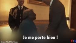 A 106 ans, elle réalise son rêve : danser avec les Obama à la Maison Blanche