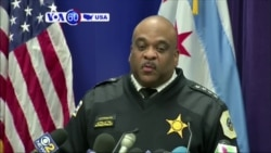 VOA60 America - Chicago police arrested four people accused of attacking an 18-year-old white mentally disabled man