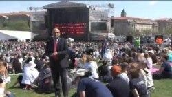 جشن روز زمین در پایتخت ایالات متحده برگزار شد