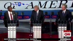VOA60 America 9-17- CNN aired last night's second republican presidential debate- September 17, 2015