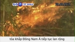 Cháy rừng ở Indonesia có thể kéo dài tới cuối năm (VOA60)
