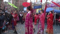 New Yorkers Celebrate Chinese New Year