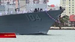 Tàu chiến Mỹ thăm Trung Quốc