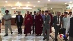 達賴喇嘛治療肺部感染後基本康復出院