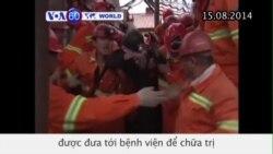 Hầm mỏ bị ngập lụt ở TQ, 9 người bị thương (VOA60)
