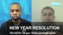 TALK2US: New Year Resolutions