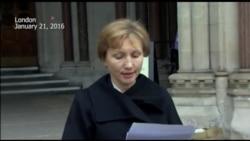 Marina Litvinenko Reacts to British Report on Husband's Death