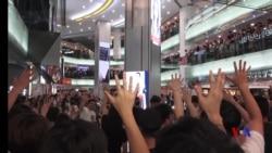 《願榮光歸香港》詞曲道出示威者心聲