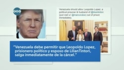 Punto de Vista: Trump Calls for Release of Lopez