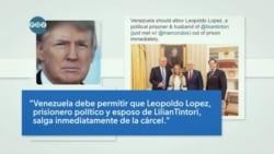 Punto de Vista: Trump Calls for Release of Lopez