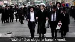 """Aşırı Muhafazakar Yahudilerden İsrail Polisine """"Nazi"""" Benzetmesi"""