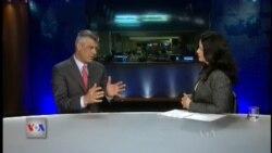 Intervistë me Ministrin e Jashtëm Hashim Thaçi