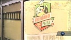 Смачна піца у центрі Києва від ветеранів АТО. Відео