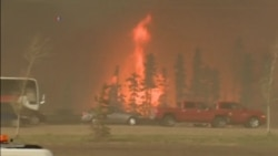 Massive Canadian Wildfire Remains 'Out of Control'