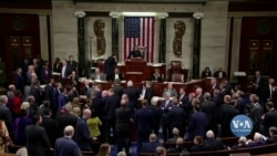 Дональд Трамп став третім президентом в історії США, якому Конгрес оголосив імпічмент. Відео