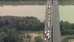 歐洲各地洪水泛濫