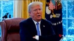 川普讚揚中國 同時指責俄羅斯幫助北韓逃避制裁 (粵語)