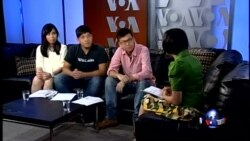 VOA卫视(2014年8月23日 第二小时节目:专访台湾太阳花学运领袖)