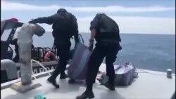 Narcosubmarino apreendido com cocaína para Estados Unidos