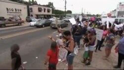 هزاران نفر در اعتراض به خشونت پلیس علیه سیاهپوستان آمریکا تظاهرات کردند