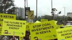 Manifestation au Kenya contre la première centrale au charbon d'Afrique de l'Est