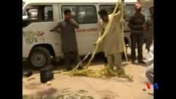 2015-05-13 美國之音視頻新聞:巴基斯坦卡拉奇大巴遇襲 43人被殺