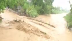 馬修颶風席捲海地南部 沖垮該國樞紐橋樑