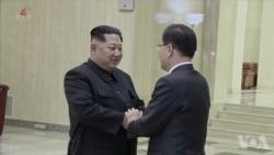 韩特使赴华盛顿通报韩朝会晤 蒂勒森说美将保持清醒