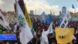 """HDP'ê li Stenbolê Mîtînga """"Na"""" li Dar Xist"""