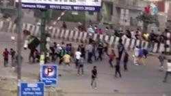 بھارتی دارالحکومت میں فسادات، مساجد اور عبادت گاہوں پر حملے