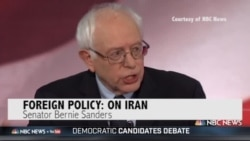 Democratic Presidential Debate: Where Candidates Stand on Iran