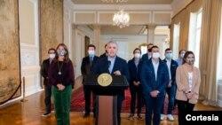 El presidente Iván Duque pide retirar la Reforma Tributaria, el domingo 2 de mayo. [Foto: Presidencia de Colombia]