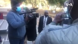 'I Haven't Done Anything Wrong' Zimbabwe Journalist Tells Reporters