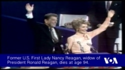 Former First Lady Nancy Reagan Dies at Age 94