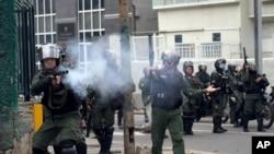 Las protestas estudiantiles en Venezuela comenzaron en febrero a causa de la inseguridad.