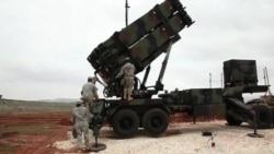 Missile Defense System Keeps Watch on Syria