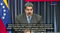 Maduro: 'Dostum Nusret! İstanbul'a Yine Geleceğim'